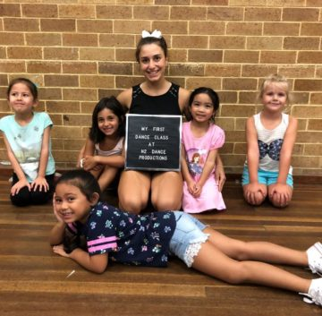 New Students at N2 Dance School, Ermington